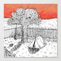 Childhood Adventure Canvas Print