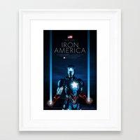IRON AMERICA 9/11 Framed Art Print