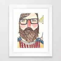 Charlie Framed Art Print