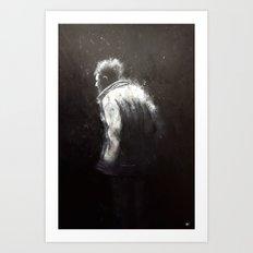 The Old Man Art Print