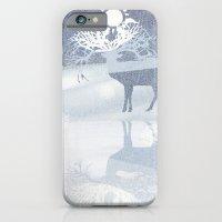 a deer with nine horns is bringing back the sun~ illustration  iPhone 6 Slim Case