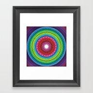 Mandala Of Inner Peace Framed Art Print