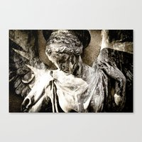 Angel Art Canvas Print