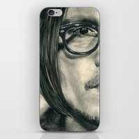 Secret Window Traditional Portrait Print iPhone & iPod Skin