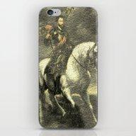 Charles V On His Horse iPhone & iPod Skin