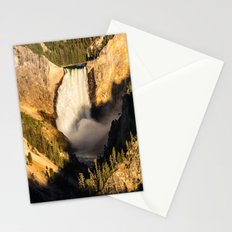 Lower Falls of the Yellowstone Stationery Cards