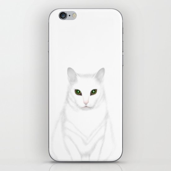 Pixel | The Cat who Walks Through Walls iPhone & iPod Skin