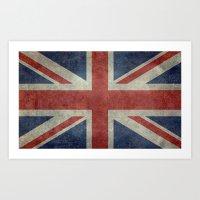 Union Jack  (3:5 Version) Art Print