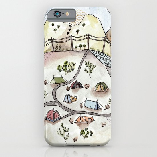 Desert Camp iPhone & iPod Case