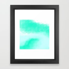 Watercolour Abstract Print Framed Art Print