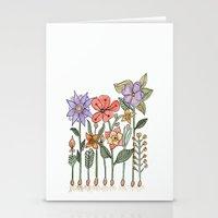 Progress flowers Stationery Cards