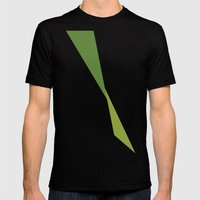 Kermit Mens Fitted Tee Black SMALL