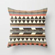 DG Aztec No.1 Throw Pillow
