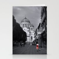 When In Lithuania Stationery Cards