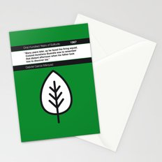 No004 MY One Hundred Years of Solitude Book Icon poster Stationery Cards
