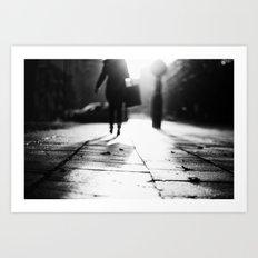 Light Shopping Art Print