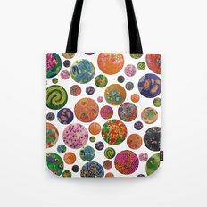 Petri Dish Polka Dot  Tote Bag