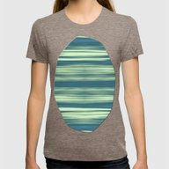 Abstraction Serenity In … Womens Fitted Tee Tri-Coffee LARGE