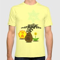 Winter is Coming... 2 Mens Fitted Tee Lemon SMALL