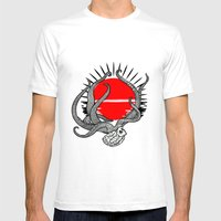 The last sunset Mens Fitted Tee White SMALL