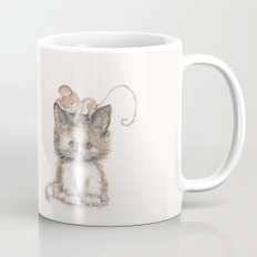 Cat and Mouse Mug