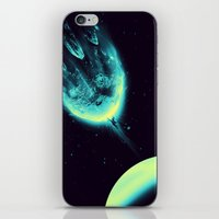 There Is No Planet To Sa… iPhone & iPod Skin