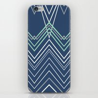 Navy Chevy iPhone & iPod Skin