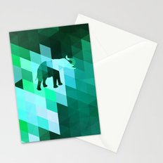 Emerald Elephant Stationery Cards
