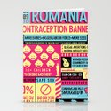 Contraception Ban Stationery Cards