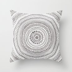 lines lines lines.. Throw Pillow