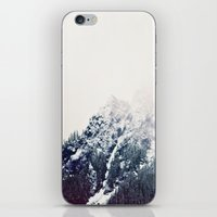 Vintage Snowy Mountain iPhone & iPod Skin