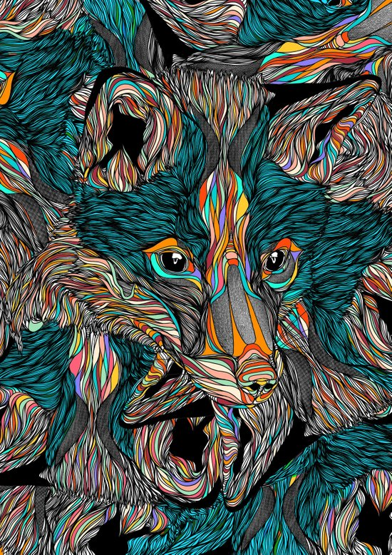 Fox (Feat. Bryan Gallardo) Art Print