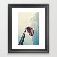 Tall America Framed Art Print