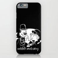 iPhone & iPod Case featuring Hobbel and Calvy by Billy Allison