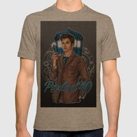 Perfect 10 Mens Fitted Tee Tri-Coffee SMALL