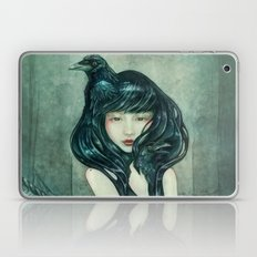 Oracle of the sodden raven Laptop & iPad Skin
