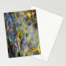 Abstract Blue Stationery Cards