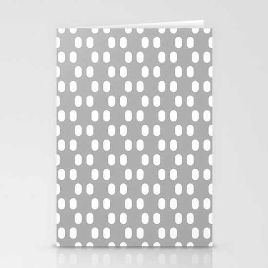 Aelbrecht Grey Pattern Stationery Card