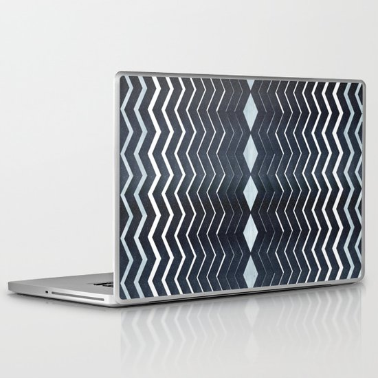 ELEGANT IN BLUE Laptop & iPad Skin