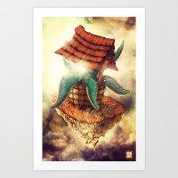 The Wormhole Art Print