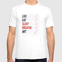 Raison D'etre  Mens Fitted Tee White SMALL