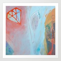 Crystalization Art Print