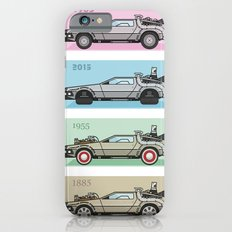 Back to the Future - Delorean x 4 iPhone 6 Slim Case