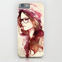 iPhone & iPod Case featuring Angelica by Sarah Bochaton