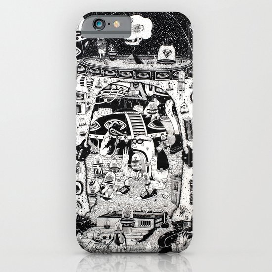 contacto real iPhone & iPod Case