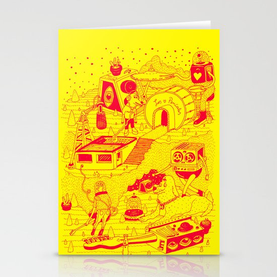 EL TANQUE CARCEDO Stationery Card