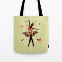 Butterfly Waltz Tote Bag