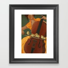 Birds on the Bow Framed Art Print