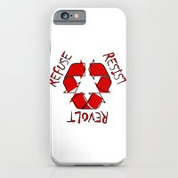iPhone & iPod Case featuring (Re) History in Reverse by notchildfriendly