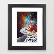 Where the Road Takes Us Framed Art Print